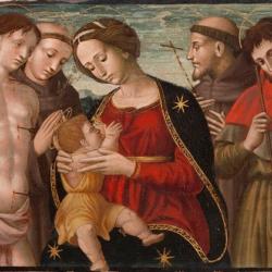 Mostra apresenta iconografia de São Francisco de Assis por mestres italianos