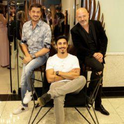 Com diversas personalidades, exposição do artista Leonardo Bueno é sucesso na Galeria Victor Hugo, em São José