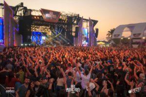 Vale Music Fest arrecada mais de 14 mil quilos de alimentos
