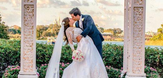 Sonho de Princesa: Casal realiza primeiro casamento à brasileira na Disney e atrai a atenção dos gringos
