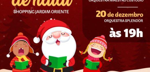 Dezembro Musical com apresentações no Shopping Jardim Oriente