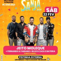 'Carnaval de Sanja' acontece entre 22 e 25 de fevereiro no Palácio Sunset