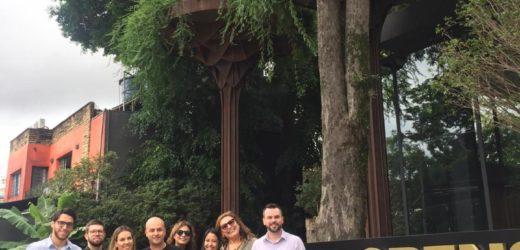Arquitetos do Vale do Paraíba visitam loja-modelo da Florense na Alameda Gabriel, em São Paulo